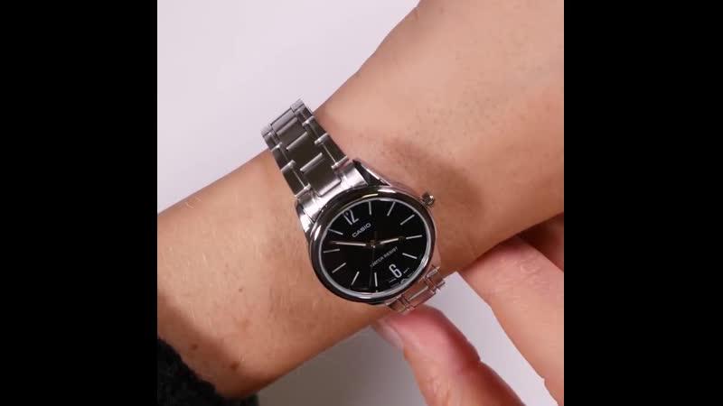 Часы женские casio лучший бренд класса люкс водонепроницаемый кварцевые дамы подарки кожаный ремешок