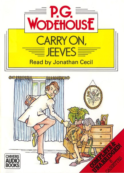 Carry On, Jeeves is a collection of ten comic short stories