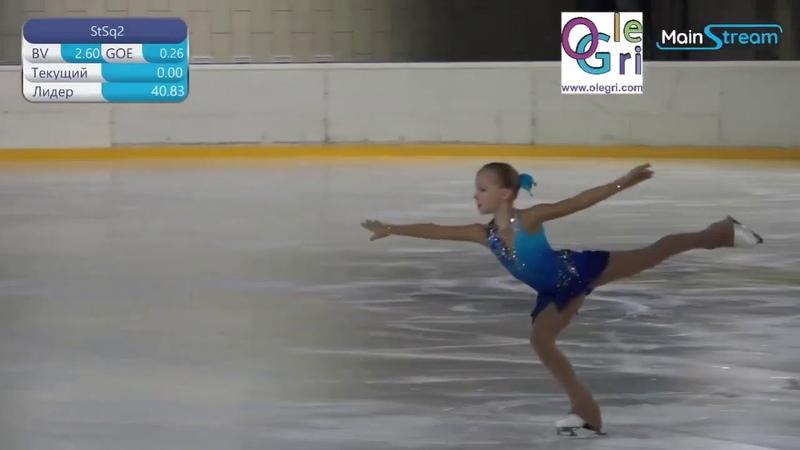 Angelina Gracheva мл вз FS Первенство Москвы мл вз 2021