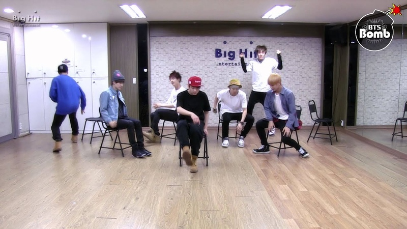 BANGTAN BOMB 'Just one day' practice Appeal ver