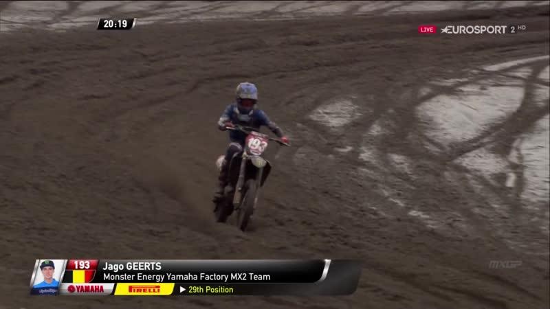 MXGP MX2 Этап 2 Нидерланды Вторые гонки