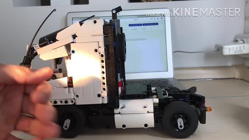 Volvo Lego technic на RRC