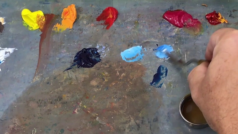Как начинать работу в технике масляной живописи