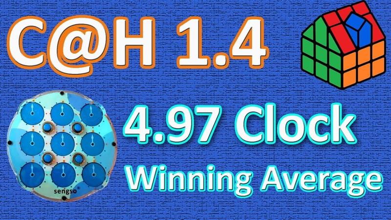 4 97 Clock Winning Average best single 3 99 C@H 1 4