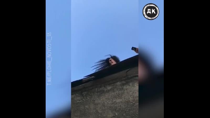 Ссора двух семейных пар на балконах в Питере Дерзкий Квадрат