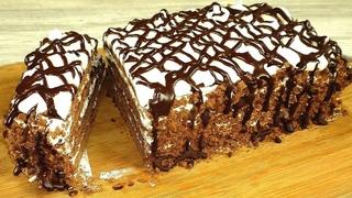 1001 положительный отзыв об этом рецепте! Домашний торт за 30 минут вместе с выпечкой