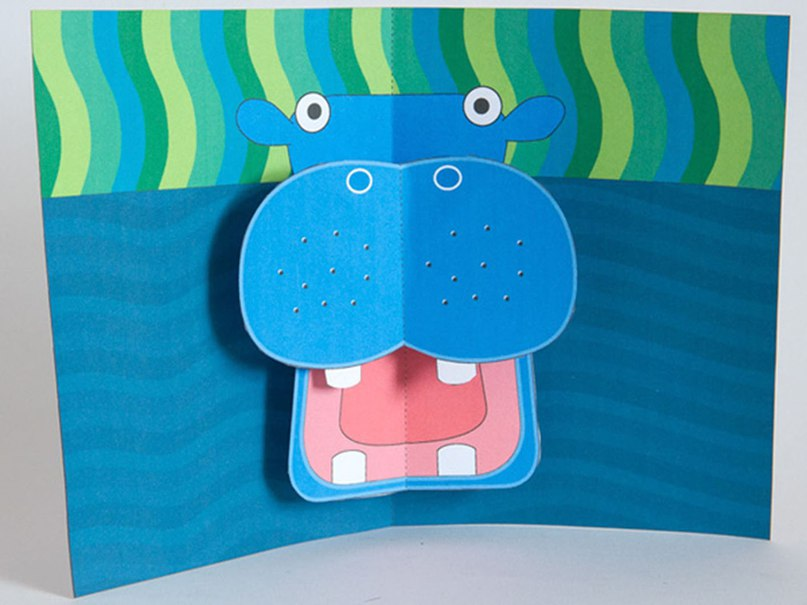 объемные открытки зверюшек вдохновляющими образами наших