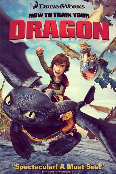HOW TO TRAIN YOUR DRAGON read