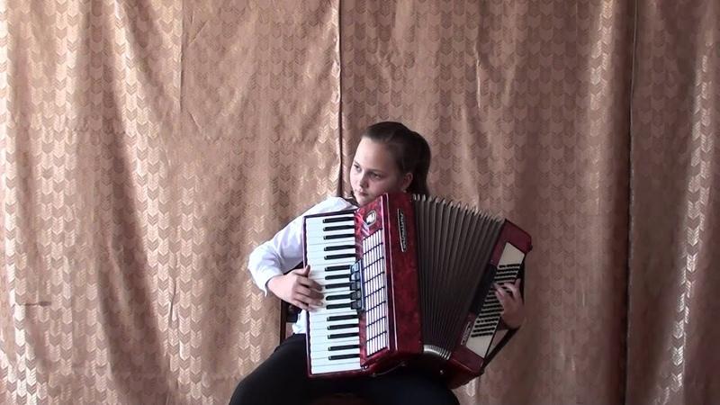 Видео Глебова Даша 4 класс Мордовской ДШИ