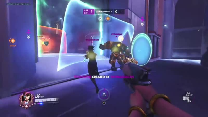 Teleporting bomb with Symmetra is so satisfying when you pull it off
