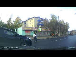 Как не нужно переходить дорогу.mp4 rfr yt yeyj gthtjlbnm