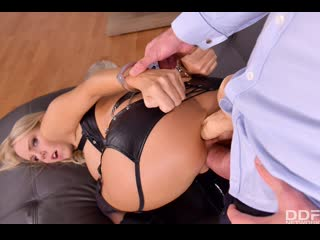 Florane Russell - Horny BDSM Neighbor DPD - Anal Sex DP BDSM MILF Blonde Big Tits Ass Gonzo Hardcore Toys Dildo, Porn