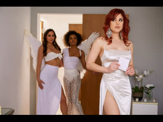Demi Sutra, Desiree Dulce, Molly Stewart - Sky Bound: Part 4 , Lesbians, Cunnilingus, Big Tits