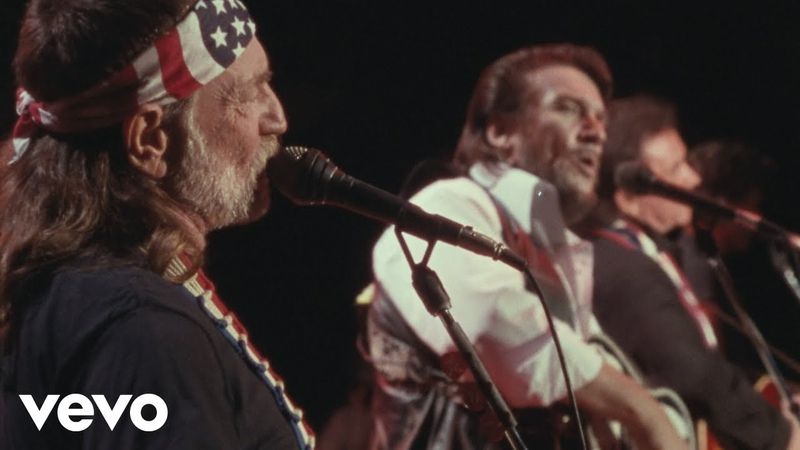 The Highwaymen City of New Orleans American Outlaws Live at Nassau Coliseum 1990