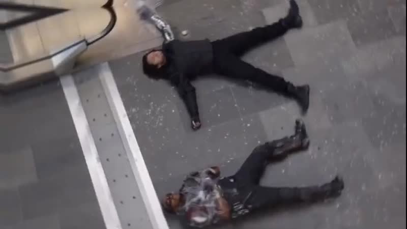 Marvel Vine Bucky Barnes Winter Soldier Sam Wilson Falcon Sebastian Stan Anthony Mackie