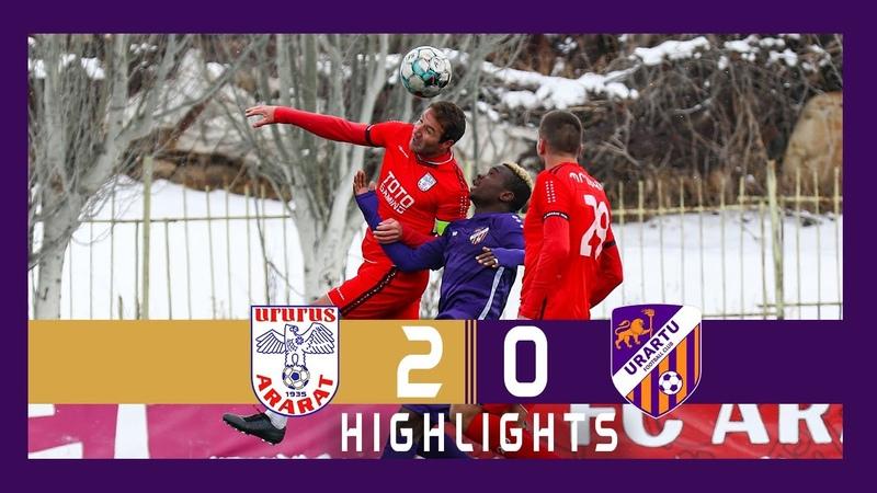 APL, Matchday 6 Ararat FC - Urartu FC 2-0. Full Highlights