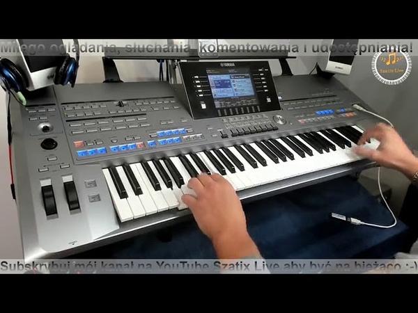 Mix Biesiada Disco Polo - Zapis transmisji z Facebooka - ( Cover by SzatixLive ) Yamaha Tyros 5
