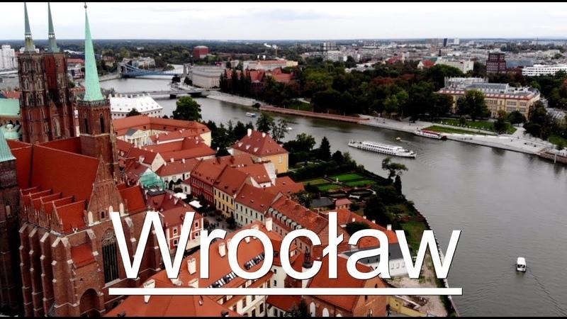 Wrocław by drone Wrocław 2020 z lotu ptaka