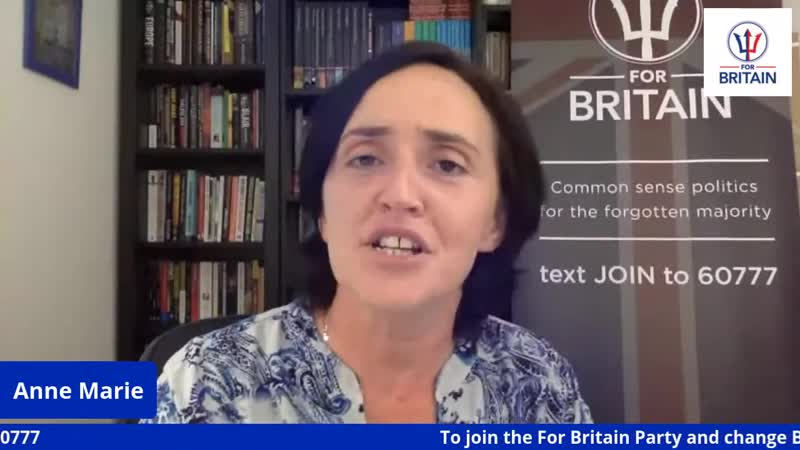 Immigration Corona Latest Anne Marie Waters For Britain Live