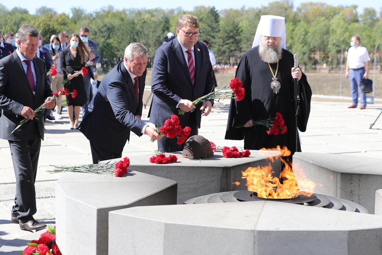 Под Таганрогом открыт Народный военно-исторический музейный комплекс «Самбекские высоты»