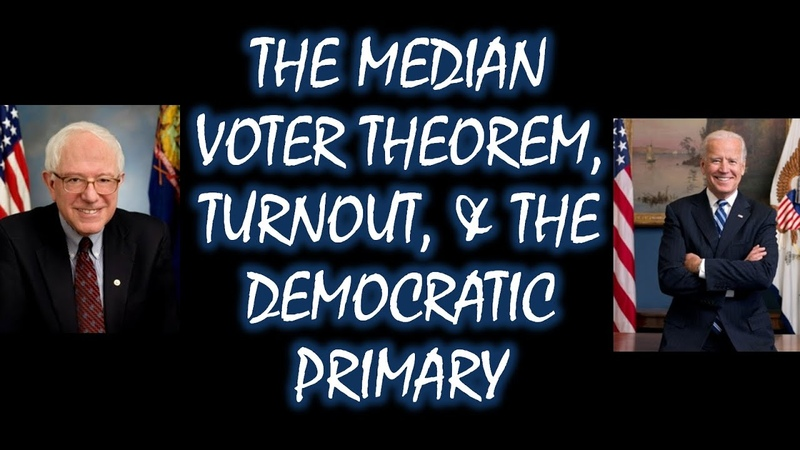 Explainer The Median Voter Theorem Turnout and the Democratic Primary