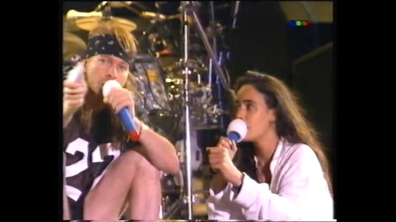 Guns N' Roses Argentina 05 12 1992 Another Version Part 2