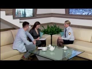 Светлана Брагина, помощник начальника управления Росгвардии по взаимодействию со средствами массовой информации, майор полиции