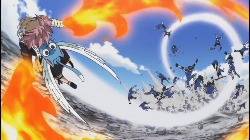 Fairy Tail Opening 24 Full AMV Alvarez Empire Arc Natsu vs Zeref