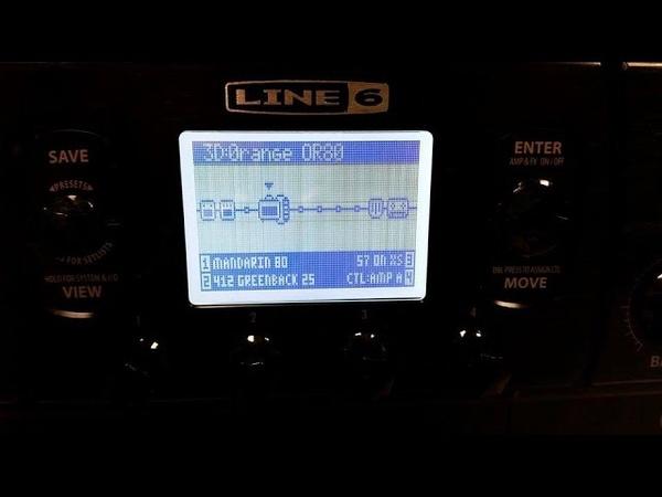 Line 6 POD HD X Amp Bundle Demo Metal and Vintage Packs