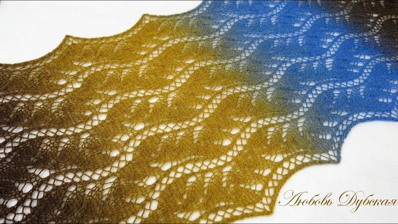 Палантин Китайское кружево Мастер класс Palatine Chinese lace Master Class
