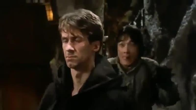 Уэйн Арчер и Джеки Чан фрагмент из фильма Доспехи бога 1986