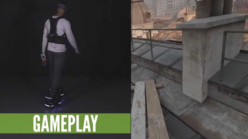 Half-Life Alyx With Ekto One Robotic VR Boots