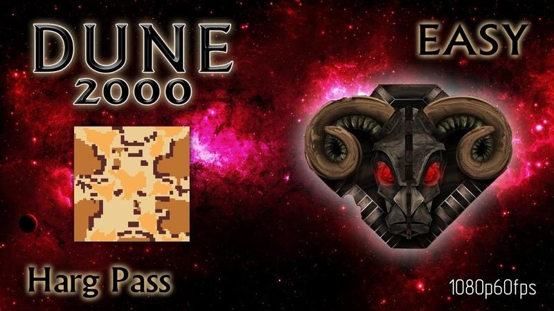 Dune 2000 Skirmish Harg Pass Harkonnen Easy 1080p60fps