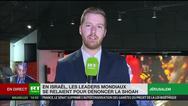A Jérusalem, les leaders mondiaux se relaient au Forum mondial de la Shoah