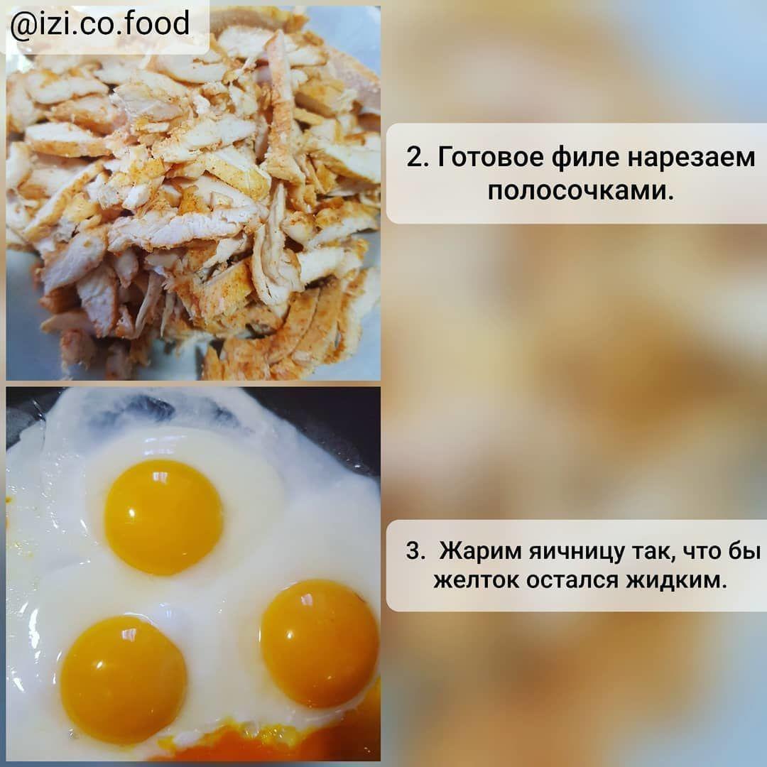 Сочная шаурма с яйцом