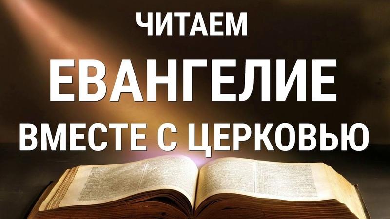 Читаем Евангелие вместе с Церковью 07 июня 2020