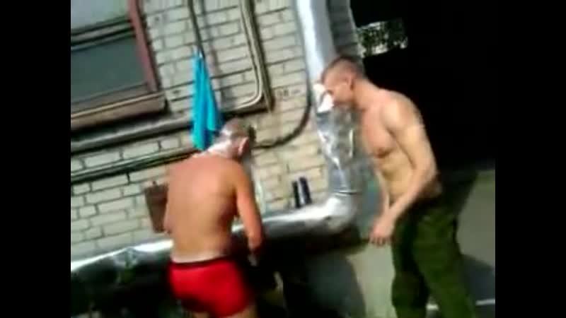 С лёгким паром наши в бане армия солдаты баня