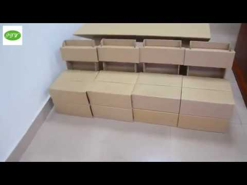 PDW Packing Paper desk and chair for Children or BBQ