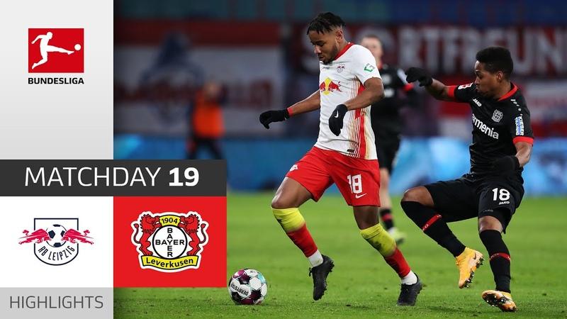 RB Leipzig Bayer 04 Leverkusen 1 0 Highlights Matchday 19 Bundesliga 2020 21