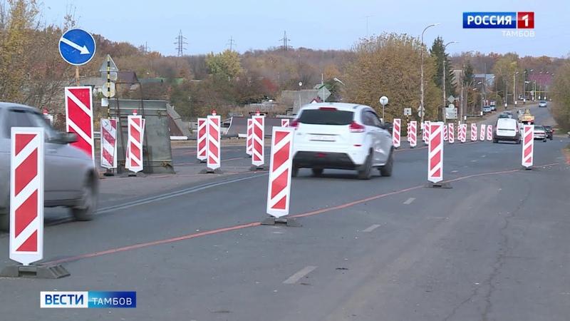 В Уварове реконструируют аварийный путепроводВести Тамбов
