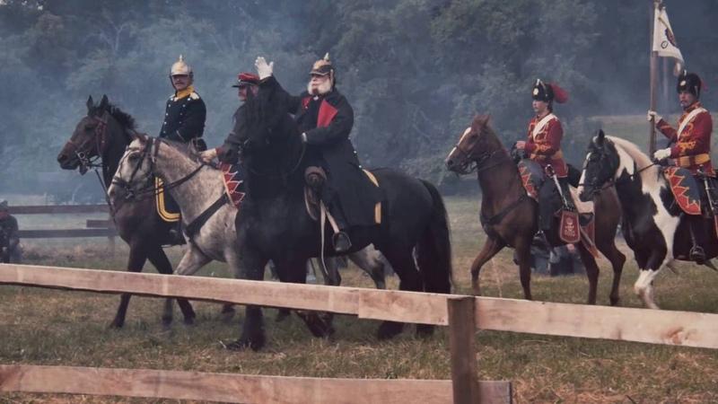 Königgrätz 1866 bitva 150 výročí v jedné minutě