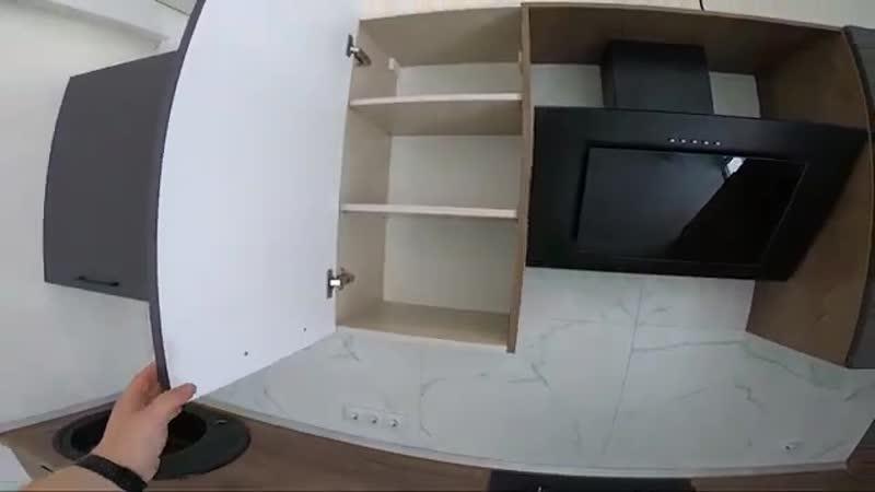 Кухня с фасадами ил ЛДСП эггер и РЛ