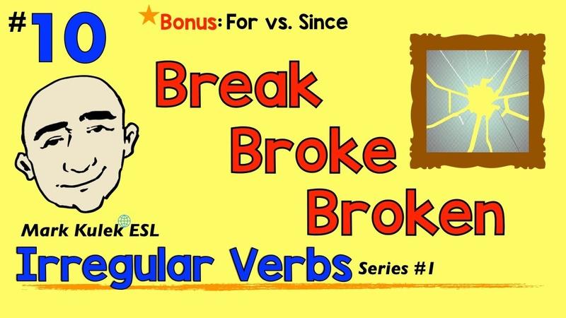 Irregular Verbs base past past participle Mark Kulek ESL