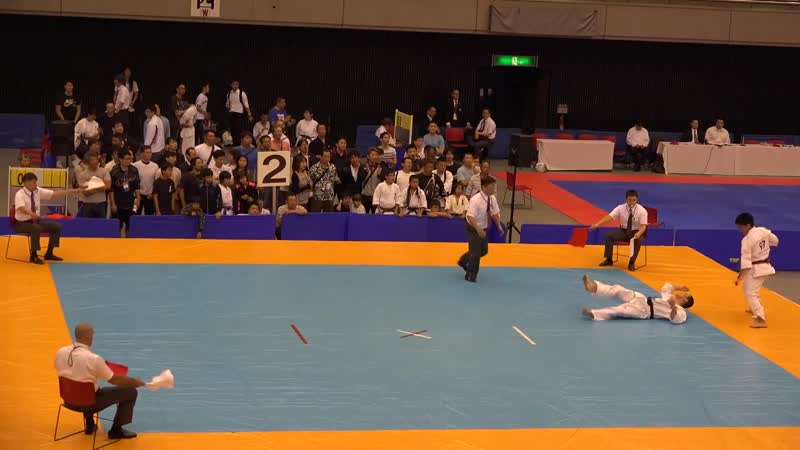 Best knockout the 34th Alljapan Weight Category Karate Championships