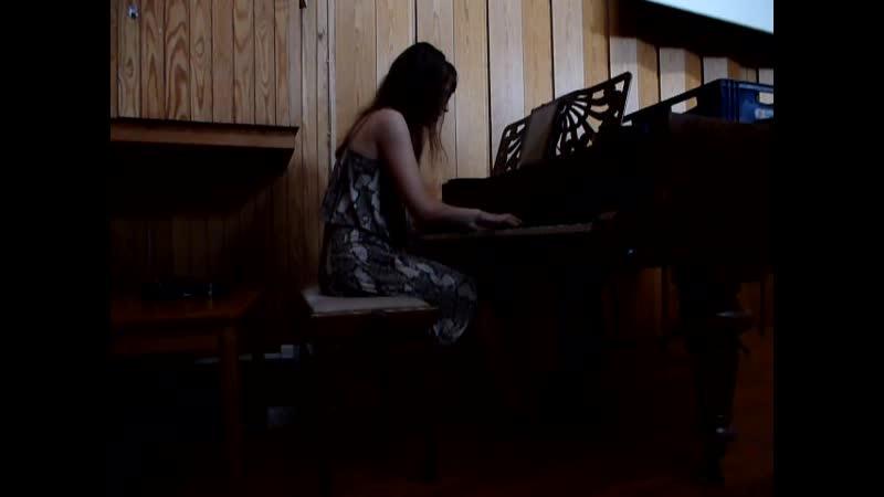 Bach Preludio d moll