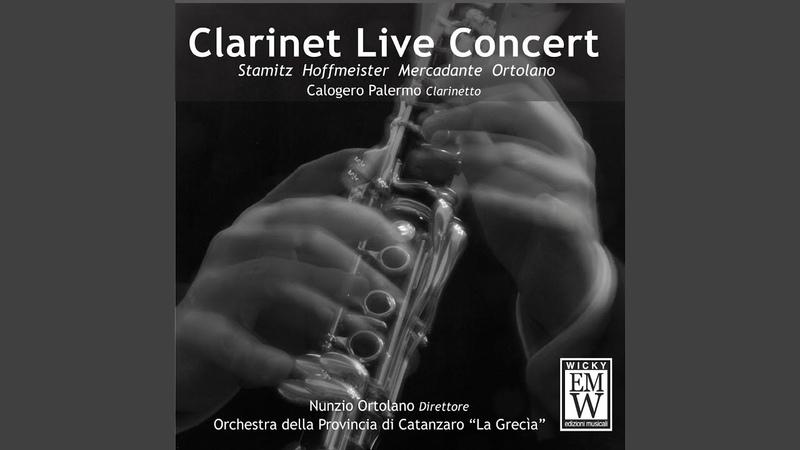 Concerto per Clarinetto e Orchestra da Camera in B flat Major, 1 Allegro Maestoso