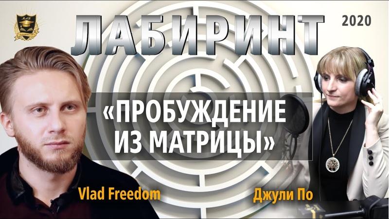 ЛАБИРИНТ Пробуждение из матрицы Джули По Vlad Freedom