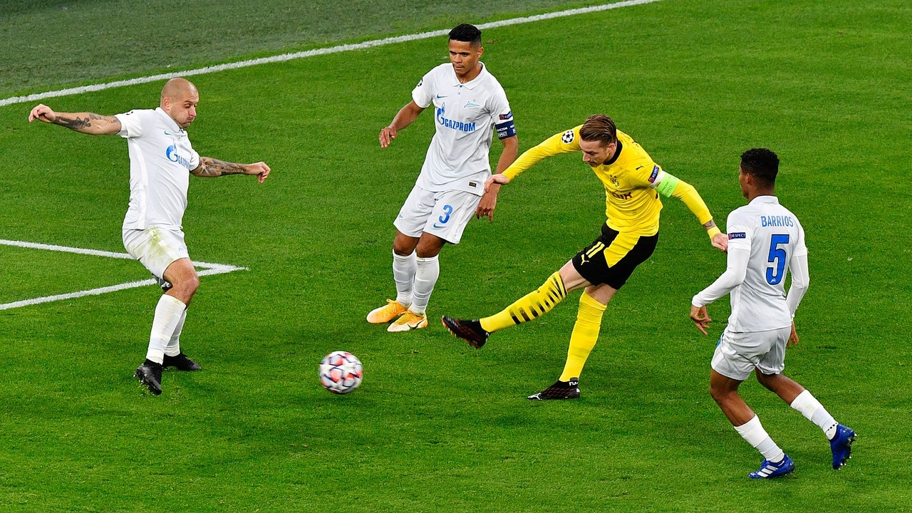 Боруссия - Зенит, 2:0. Лига Чемпионов