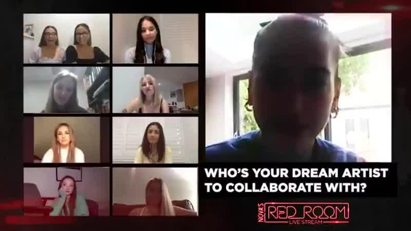 Dua Lipa о сотрудничествах мечты Nova's Red Room Live Stream