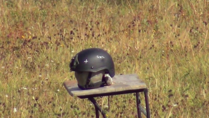 Отстрел бронешлема ATLAS МК2 Ops Core Бр 2